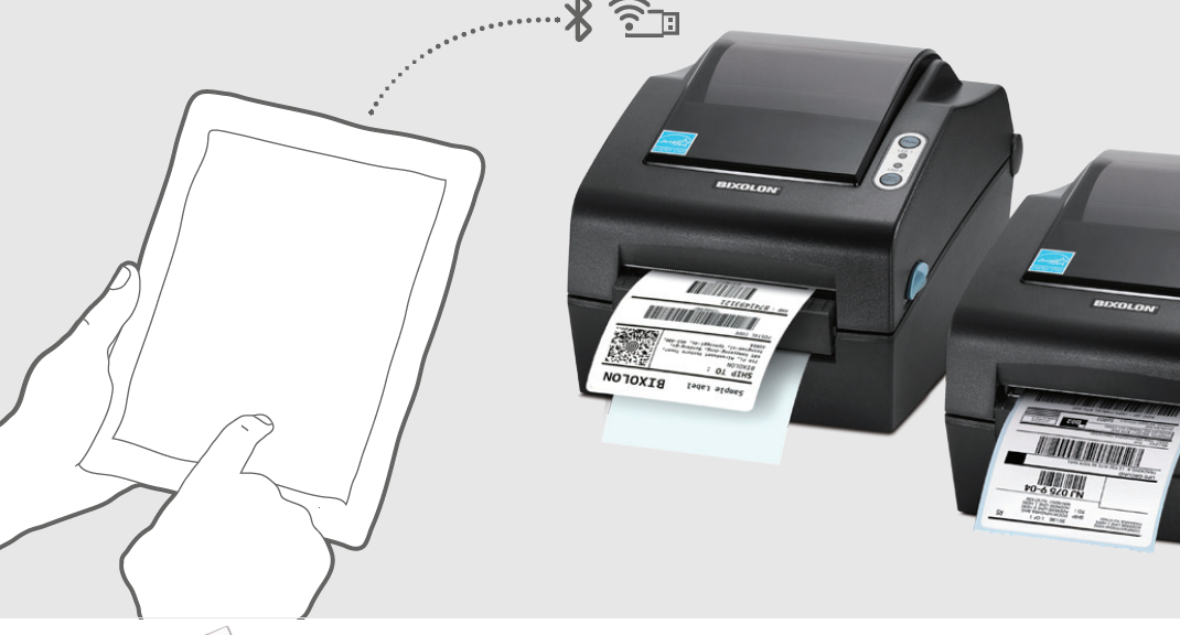 bixolon-desktop-label-printer