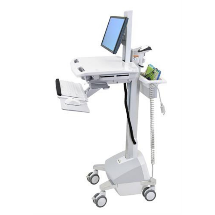 Ergotron Styleview Cart with LCD Pivot, LiFe Powered