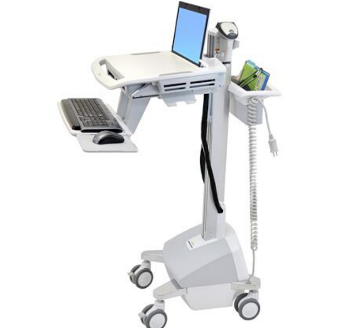 SV42 Styleview Powered Laptop Cart