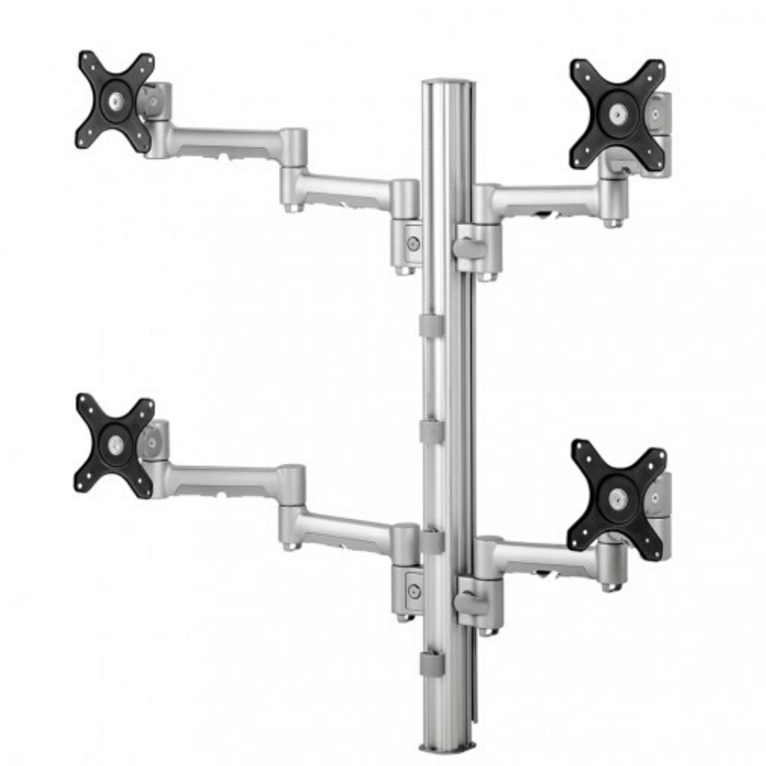 Systema Quad Desk Mount