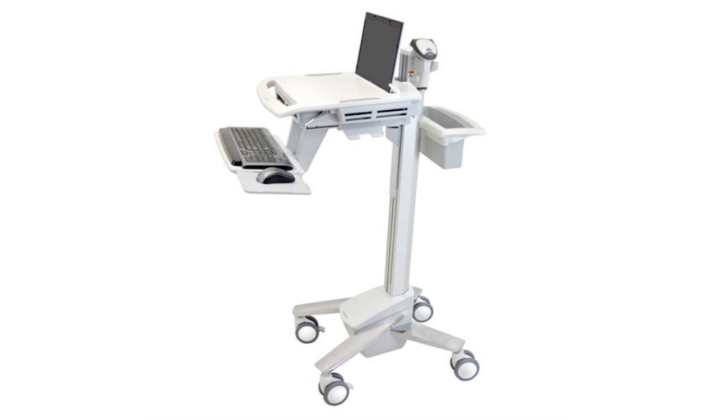 Hospital laptop cart supplier