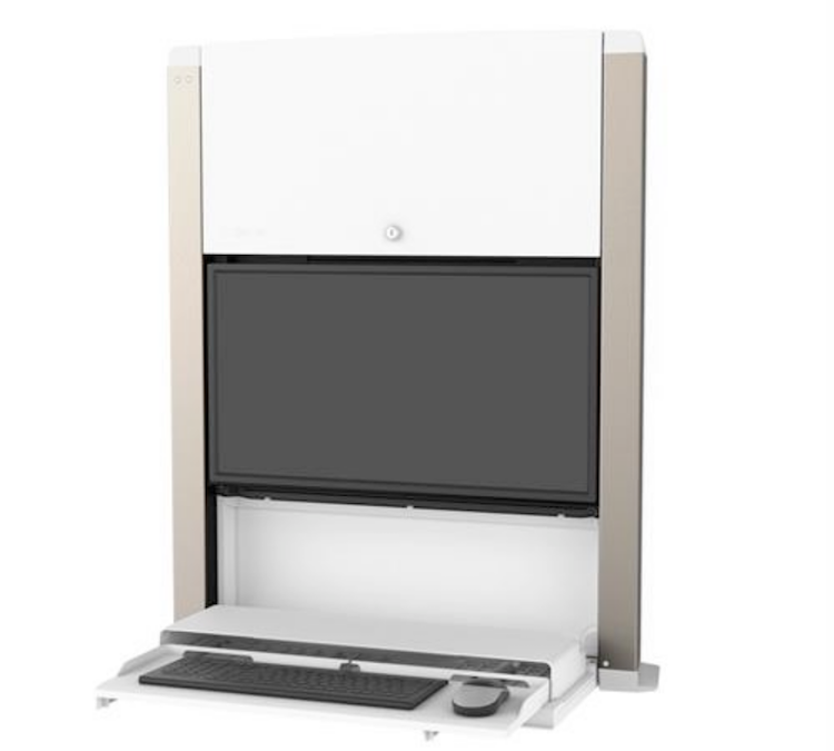 CareFit Wall Mount Workstation