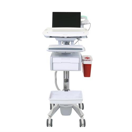 ergotron australia, medical cart, infection control equipment